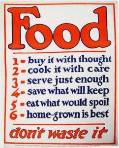 Food don't waste it