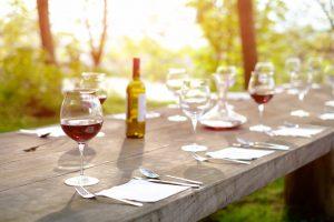 farm dinner table single